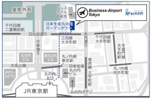 ビジネスエアポート東京MAP