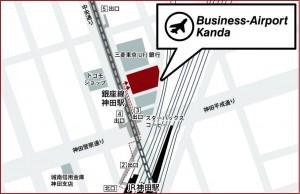 ビジネスエアポート神田MAP
