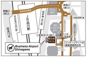 ビジネスエアポート品川MAP